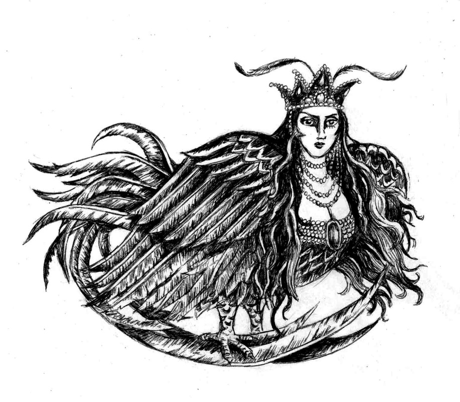 Harpies And Sirens Mythical Creatures
